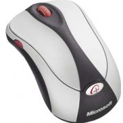 Wireless Notebook Optical Mouse 4000 (Silver Black)