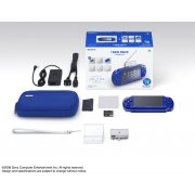 PSP PlayStation Portable Slim &amp; Lite - Metallic Blue 1seg Pack (PSPJ-20004)