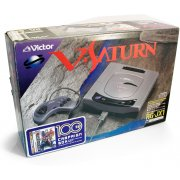 Sega Saturn Console - Victor V-Saturn RG-JX1 Virtua Fighter Remix Campaign Box [Long Box] 