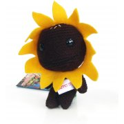 LittleBigPlanet Mini Knit Mascot Plush Doll: Sackboy (Sunflower Version)