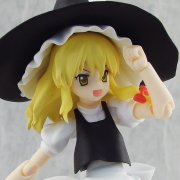 Touhou Project Non Scale Pre-Painted PVC Figure: Figma Kirisame Marisa