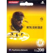 PlayStation Network Card / Ticket - Metal Gear Solid Peace Walker (200 HKD / for Hong Kong network only)