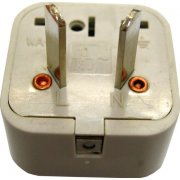 Socket Adapter / Travel Plug (Australian, New Zealand style plug)