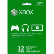 Xbox Live 12-Month Gold Subscription 