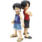 Excellent Model Mild One Piece CB-EX 1/8 Scale Pre-Painted Figure: Luffy &amp; Ace (Re-run)