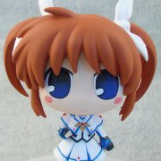 Magical Girl Lyrical Nanoha The Movie 1st Non Scale Pre-Painted  Soft Vinyl Figure: Nanoha Takamachi