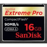 SanDisk Compact Flash Card 16GB Extreme Pro