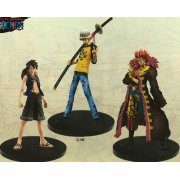 One Piece The Grandline Men Vol.5 Pre-Painted PVC Set: Luffy &  Law & Eustass