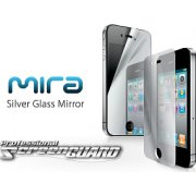 MIRA iPhone 4 Professional 4 Screen Guard (Silver Glass Mirror)