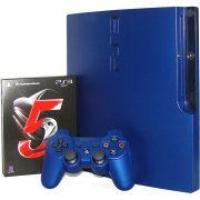 PlayStation3 Slim Console - Gran Turismo 5 Racing Pack (HDD 160GB Model) -220V