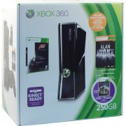 Xbox 360 Elite Slim Console (250GB) Forza Motorsport 3 & Alan Wake & Halo: Reach Bundle