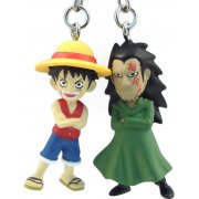 One Piece Pre-Painted PVC Twin Key Chain Vol. 1: Luffy &amp; Dragon