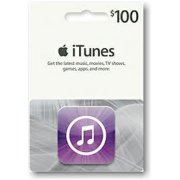 iTunes Card (US$ 100 / for US accounts only)