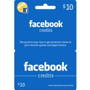 Facebook Card (US$ 10 / for US accounts only)
