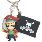 One Piece Pre-Painted PVC Key Chain Vol.3: Gol D. Roger