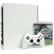 PlayStation3 Slim Console - Winning Eleven 2012 Value Pack (HDD 160GB Classic White Model) - 220V