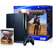 PlayStation3 Slim Console - Uncharted 3: Drake's Deception Value Pack (HDD 320GB Black Model) - 110V