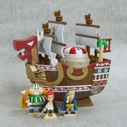 One Piece Chara Bank Pirate Ship Series Non Scale Pre-Painted Figure: Shanks Red Force