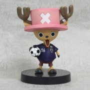 One Piece Bobbing Head Pre-Painted PVC Figure: Chopper Japanese Soccer Team Ver.