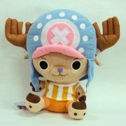 One Piece Plush Doll: Chopper Reversible Cushion