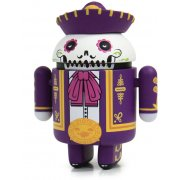 Google Android Non Scale Pre-Painted Vinyl Mini Collectible Series Special Edition: Don Pablo Calaveroid