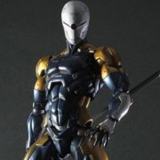 Metal Gear Solid Play Arts Kai Pre-Painted Figure: Cyborg Ninja