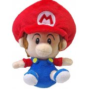 Super Mario Plush Series Doll: Baby Mario (Small Size)