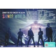 Live DVD Shinee The 1st Concert In Japan - Shinee World [2DVD+Photo Booklet]