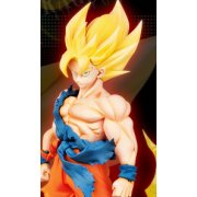 Dragon Ball Kai Ichiban Kuji Non Scale Pre-Painted PVC Figure: Super Saiyan Son Gokou