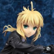 Fate/Zero 1/8 Scale Pre-Painted PVC Figure: Saber &amp; Saber Motored Cuirassier