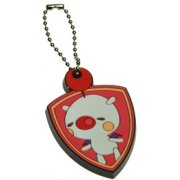 Theatrhythm Final Fantasy Rubber Key Holder - Moogle