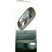 ARiS PSVita BodiFender Crystal Clear &amp; Low Reflection (Back-Side Protector)
