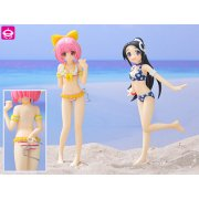 The World God Only Knows Non Scale Pre-Painted PVC Figure Set Swimming Ver.