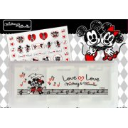 Thumbnail for Disney Character Card Case 6 Seal Set for Nintendo 3DS (Mickey & Minnie)