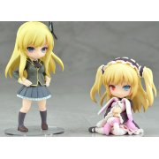 Boku wa Tomodachi ga Sukunai Non Scale Pre-Painted PVC Figure: Kashiwazaki Sena &amp; Hasegawa Kobato Twin Pack