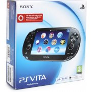 PS Vita PlayStation Vita - 3G/Wi-Fi Model (Crystal Black)