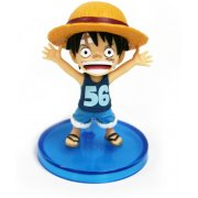 One Piece World Collectable Pre-Painted PVC Figure word : Luffy TT01