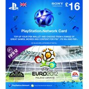 PlayStation Network Card - Euro 2012 Branded (GB&amp;#163; 16 / for UK network only)