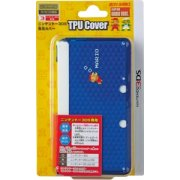TPU Cover for Nintendo 3DS [Super Mario Cobalt Blue Version]