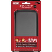 Semi Hard Pouch for 3DS LL (Black)