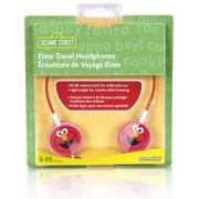 DreamGear Elmo Travel Headphones - Red