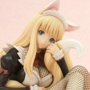 Shining Hearts 1/6 Scale Pre-Painted PVC Figure: Rouna