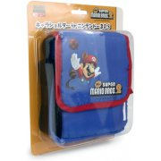 New Super Mario Bros. 2 Bag for 3DS (Blue) [Shippo Mario Version]