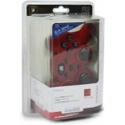 DreamGear Radium Wireless Controller with Dual Rumble Motors (Metallic Red)