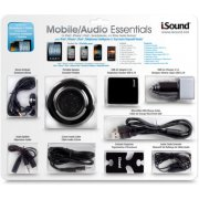 DreamGear Mobile Audio Essentials - Black