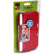 TPU Yawakata Cover for 3DS LL (red)