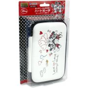 Disney Character Hard Pouch for 3DS LL (Micky & Minnie Version)