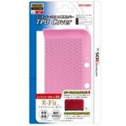 TPU Cover for 3DS LL (Clear Pink)