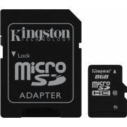 Kingston Micro SD Card 8GB Class 10