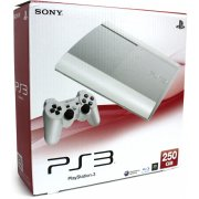 PlayStation3 New Slim Console (250GB Classic White Model) - 110V